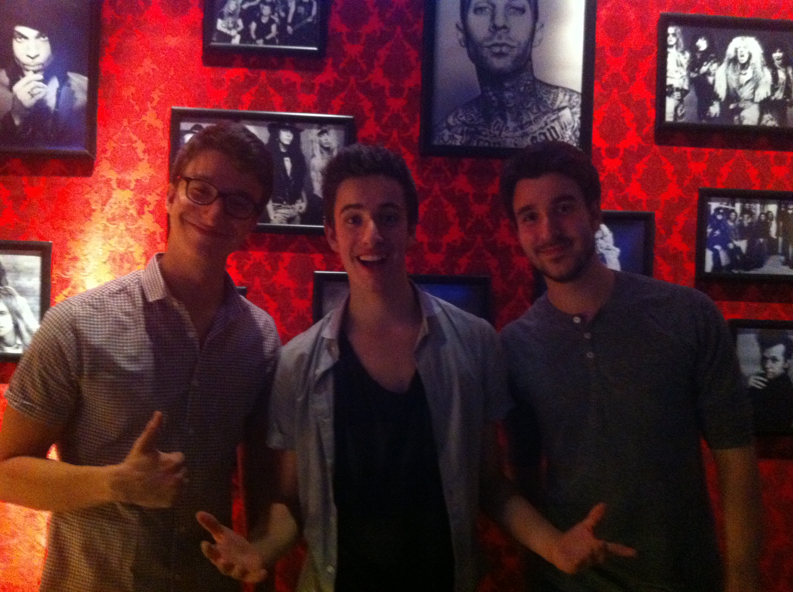 The AJR Brothers at the Emporium in Patchogue, NY!