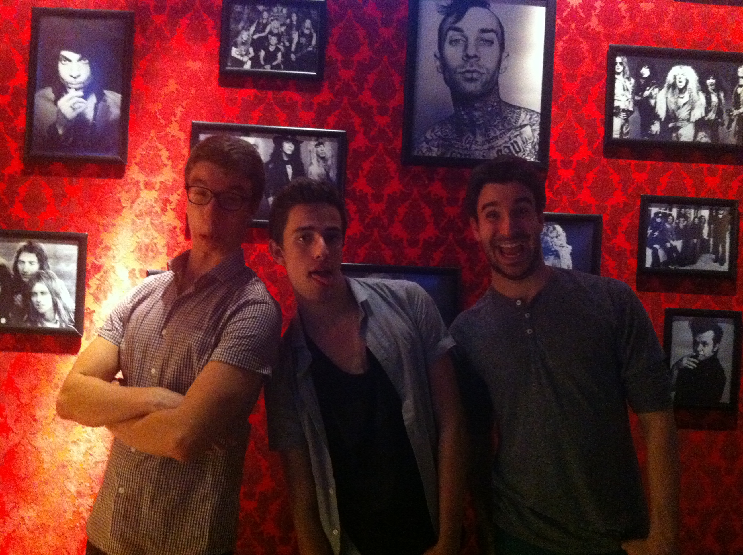 The AJR Brothers goofing around in Patchogue, NY!