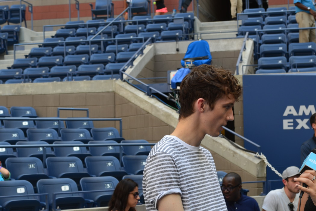 Troye Sivan at Arthur Ashe Kids Day 2016!  Photo Credit: Kimberly Strong