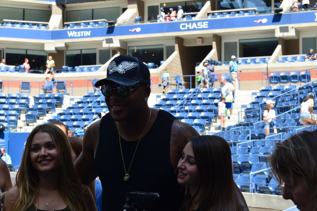 Flo Rida at Arthur Ashe Kids Day 2016!  Photo Credit: Kimberly Strong