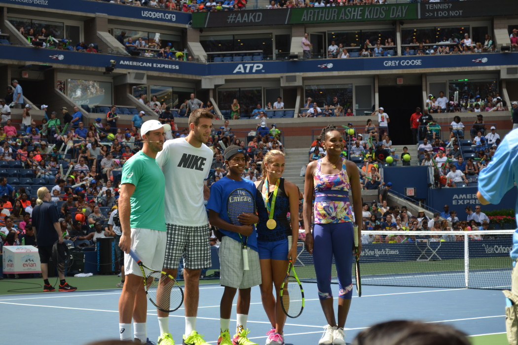 Arthur Ashe Kids' Day 2016  Photo Credit: Kimberly Strong