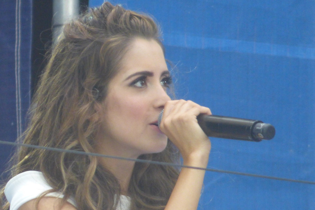 Laura Marano at Arthur Ashe Kids' Day 2016!  Photo Credit: Mary Ayers