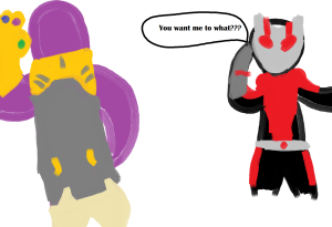 ant man and thanos